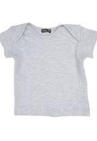TORO CLOTHING - Plain Tee Grey
