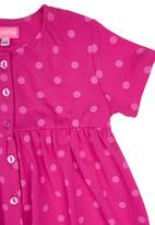 Sam & Seb - Button-front Dress Mid Pink