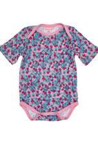 Sam & Seb - Floral Babygro Multi-colour