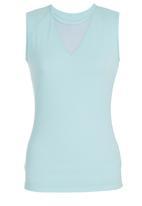 KARMA - V-neck Tank Turquoise