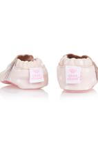 shooshoos - spotted leather shoes Pale Pink