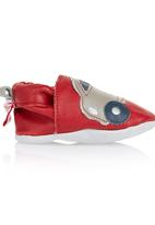 shooshoos - Leather Car Shoes Red