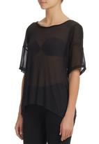 edit - Blouse with Insets Black