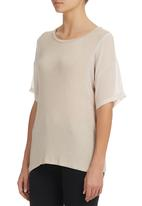 edit - Blouse with Insets Stone