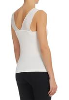 edit - Butterfly Cami White