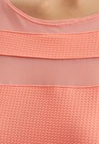 edit - Tunic with Insets Coral