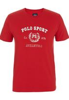 POLO - Heritage Sport T-shirt Red