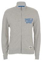 POLO - Heritage Sport Zipped Fleece Grey