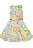 Twin Clothing. - Floral Dress Multi-colour