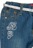 Twin Clothing. - Jeans with Belt Blue