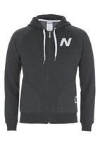 New Balance  - Essential zip-up hoodie Grey