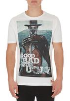 Scam - Dog Face Tee White