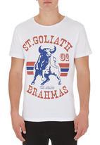 St Goliath - Brahma tee White