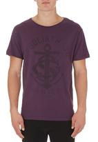 St Goliath - Anchor tee Purple