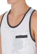 Dstruct - Olivas vest White