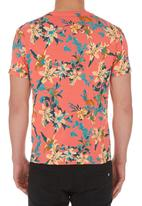 London Hub - Lillies Tee Orange