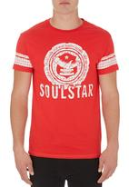 London Hub - Fortune Tee Red