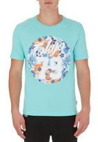 Tokyo Tigers - Monchy T-shirt Turquoise