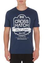 Crosshatch - Luxout Tee Navy