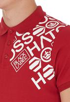 Crosshatch - Hacked Off Golfer Red