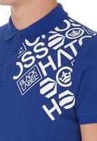 Crosshatch - Hacked Off Golfer Mid Blue