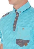 Smith & Jones - Coronation Golfer  Turquoise