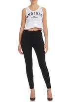 All About Eve - Stanford Track Tank White