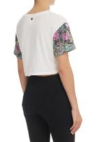 All About Eve - Eve Bloom Top White