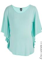 Me-a-mama - Butterfly Top Green