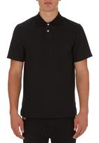 edited - Golf Shirt Knit Collar Black