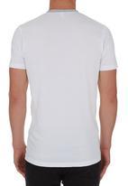 edge - V-Neck T-shirt White