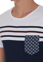 Deacon - Blemish T-shirt Blue/White