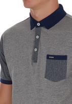Jonathan D - Mercerized Fashion Golfer Grey