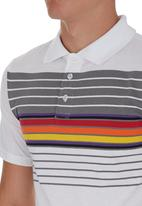 Fire Fox - Striped Golfer White