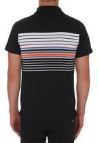 Fire Fox - Striped Golfer Black