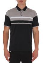 Jonathan D - Mercerized Styled Golfer Black