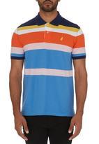 POLO - Striped Golfer Multi-colour