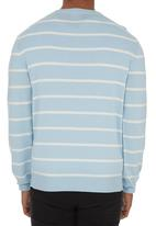 POLO - Long-sleeve Pullover Pale Blue