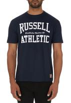 Russell Athletic - Crew-neck T-shirt Navy