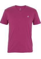 POLO - V-neck T-shirt Mid Purple