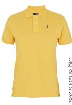 POLO - Custom-fit Golf T-shirt Yellow