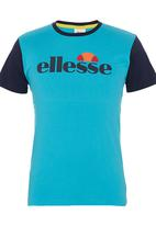Ellesse - Salvatori Colourblock T-shirt Turquoise