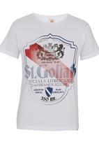 St Goliath - Europa Tee White