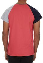 STYLE REPUBLIC - Colourblocked T-shirt Red