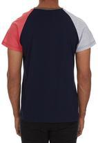 STYLE REPUBLIC - Colourblocked T-shirt Navy