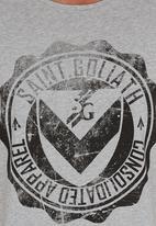 St Goliath - Logo Tee Pale Grey