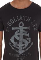 St Goliath - Anchor Tee Black