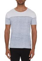 GUESS - Stripe T-shirt Blue