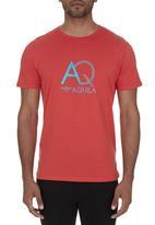 Aquila - Billy Print Tee Red