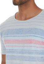 Pride & Soul - Dandre T-shirt Pale Blue